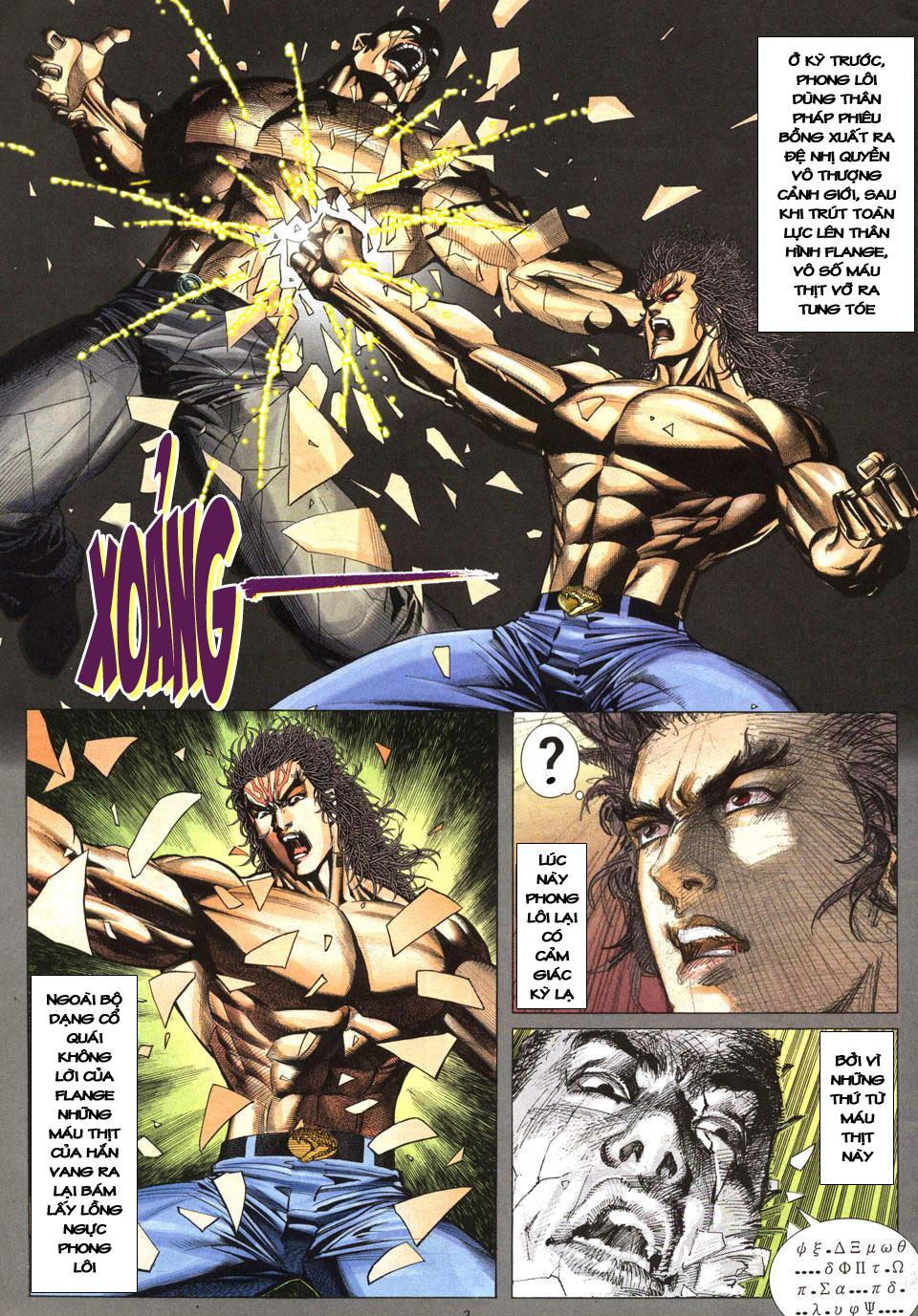 Phong Lôi chap 40 - Trang 4