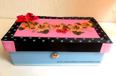 Bellas manualidades con cajas de zapatos - Decorar cajas de zapatos ...