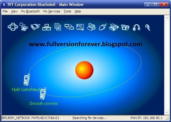 Bluetooth Drivers: IVT BlueSoleil latest full with keys