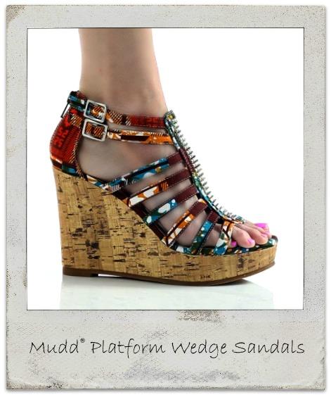 fashion mudd 174 platform wedge sandals