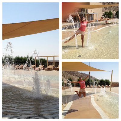 Wadi Adventure splash pool