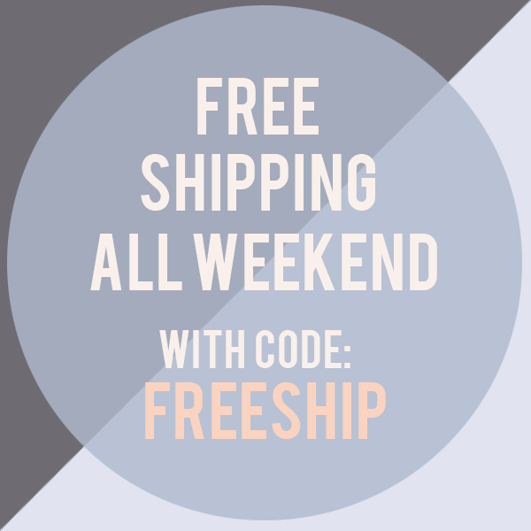 Fawn and Rose Free Shipping Weekend