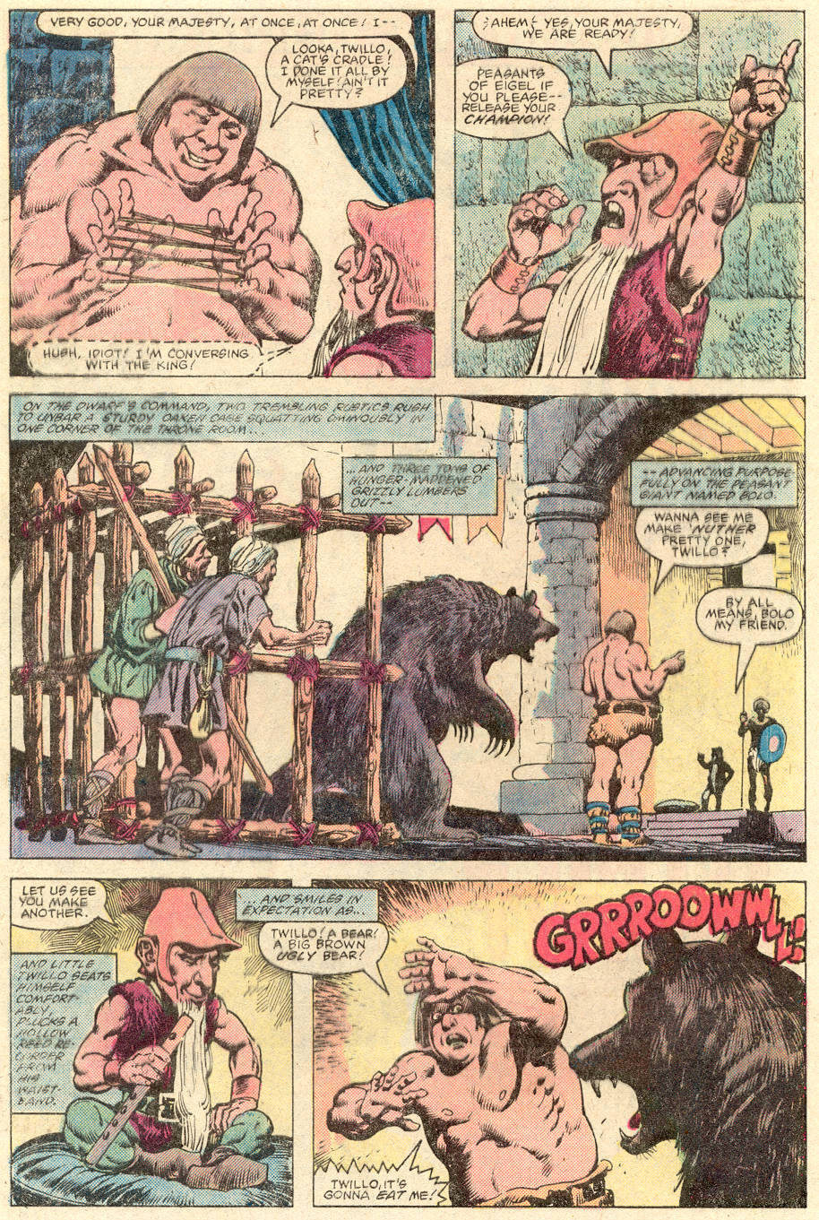 Conan the Barbarian (1970) Issue #137 #149 - English 3