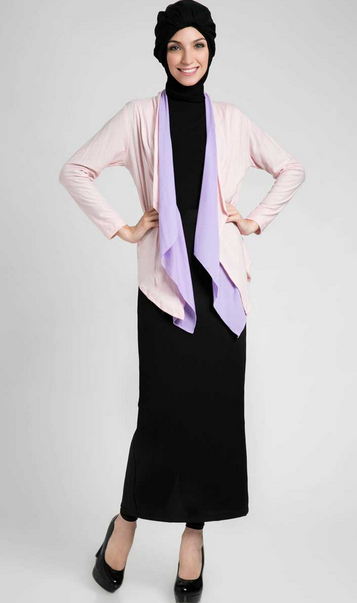 Model Baju Muslim Pesta Modis Simple Terbaru 2015