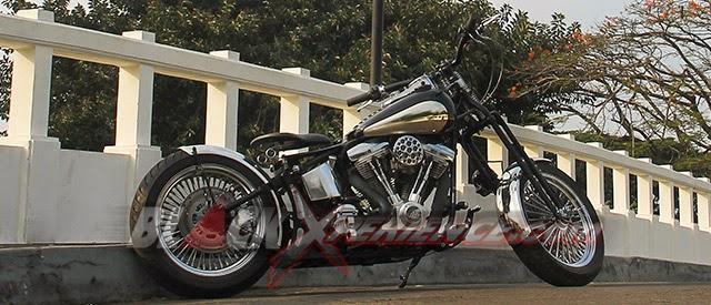 Hasil Modifikasi Harley Davidson