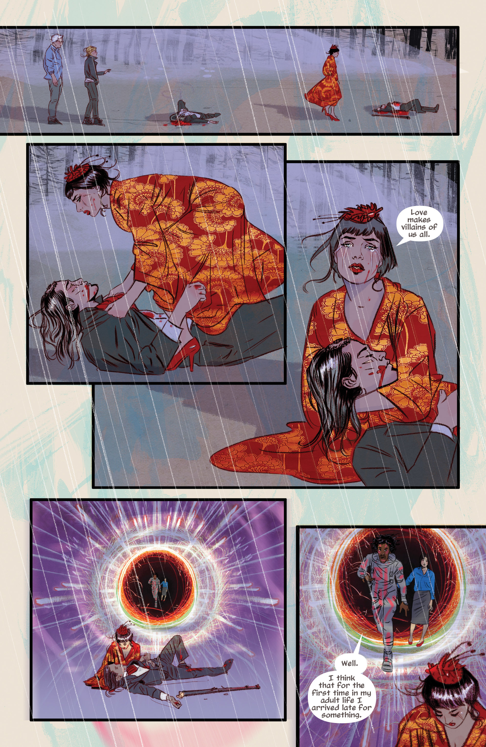 Read online Supreme Blue Rose comic -  Issue #7 - 15