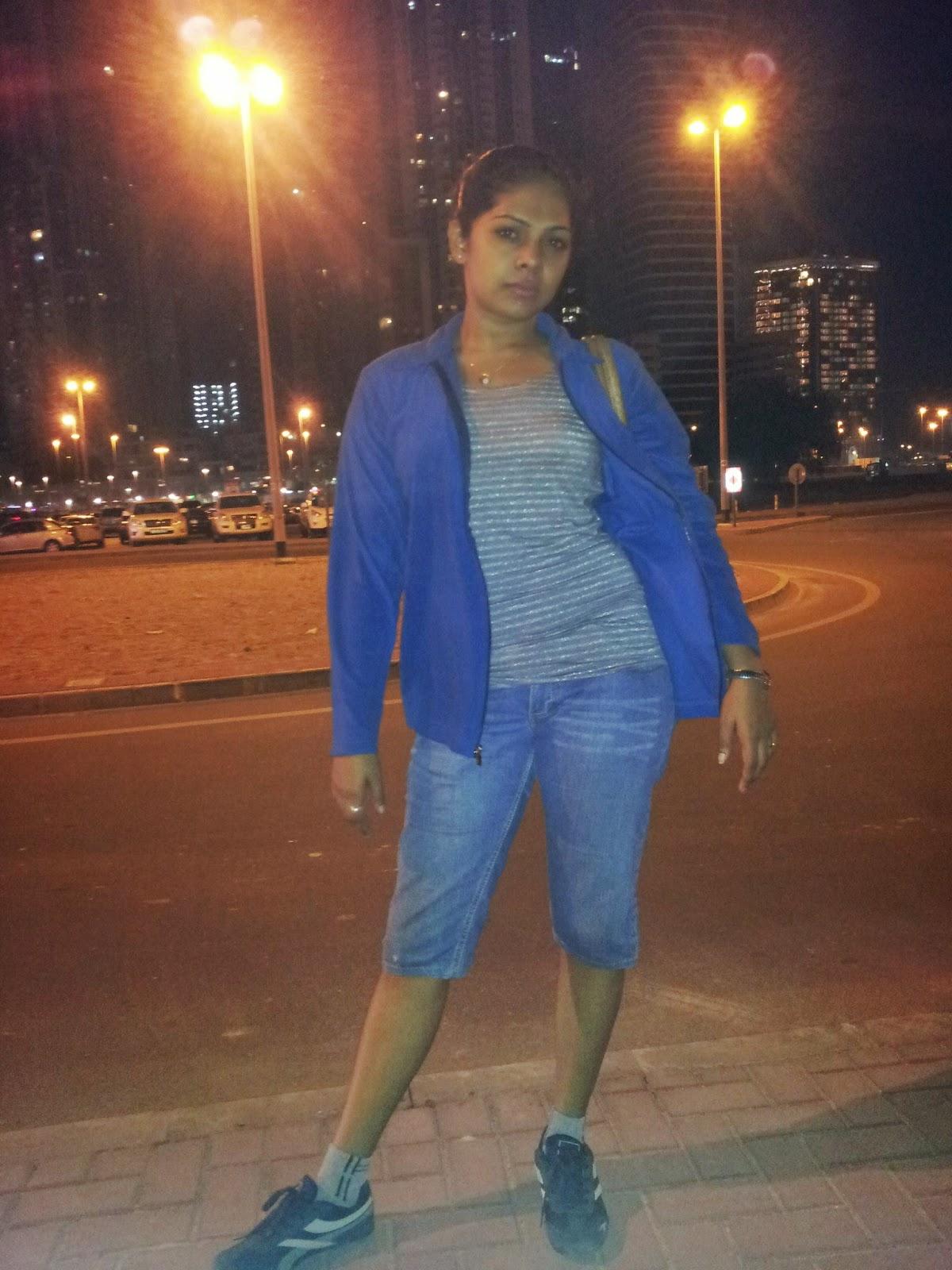 Nirosha Thalagala jeans