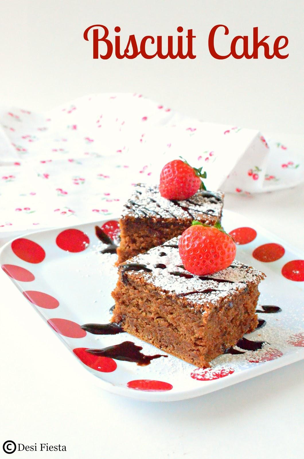 Parle G cake Recipes