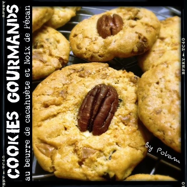 les rendez vous gourmands cookies gourmands au beurre de. Black Bedroom Furniture Sets. Home Design Ideas