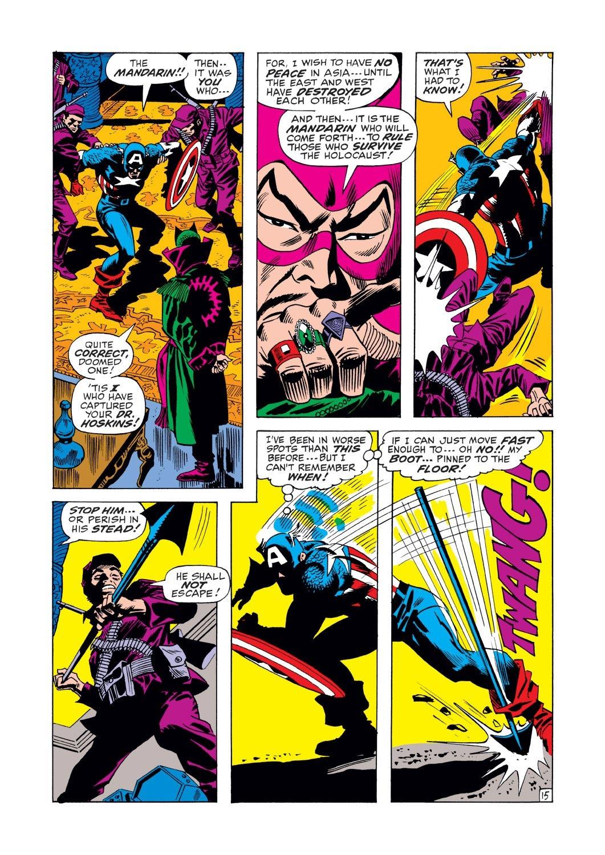 Captain America (1968) Issue #125 #39 - English 15