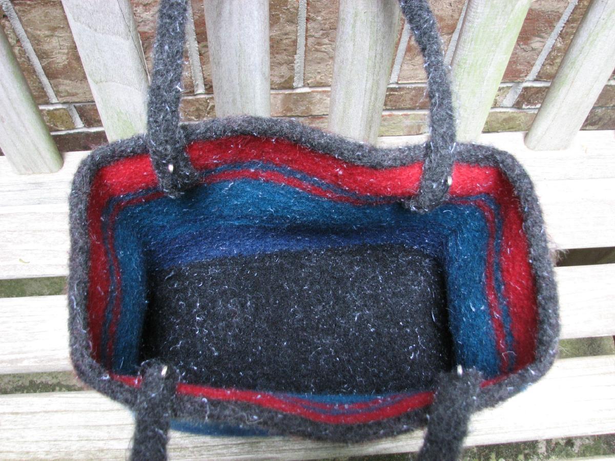 Stitching n Knitting: Bag Lady