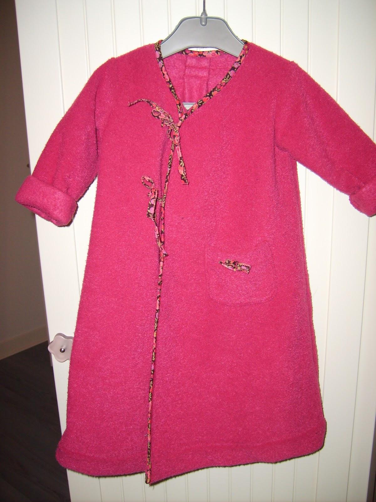 Patron gratuit robe de chambre enfant - Patron gratuit robe de chambre femme ...