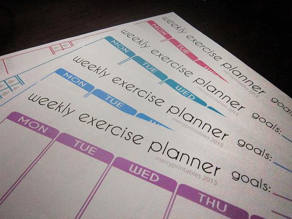workout planner online