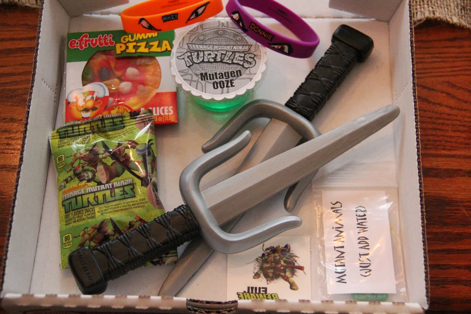 life with lulu and junebugand carter, too!: ninja turtle party favors