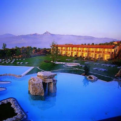 Hotel, Spa y Aguas Termales en Tuscana, Italia.