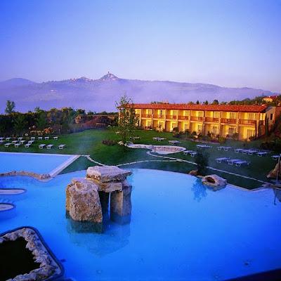 Hotel, Spa y Aguas Termales en Tuscana, Italia.