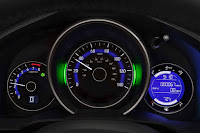 2015 NEw Honda Fit Sporty car speed view