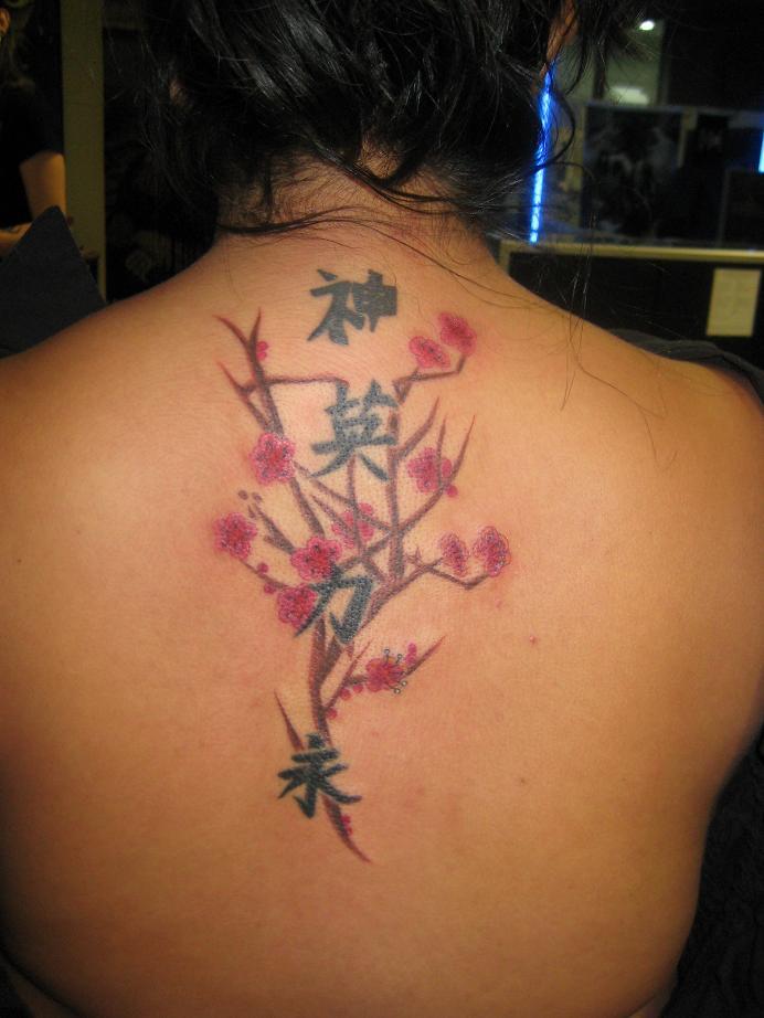 Tattoo Tattooz: Cute Upper Back Tattoos For Girls