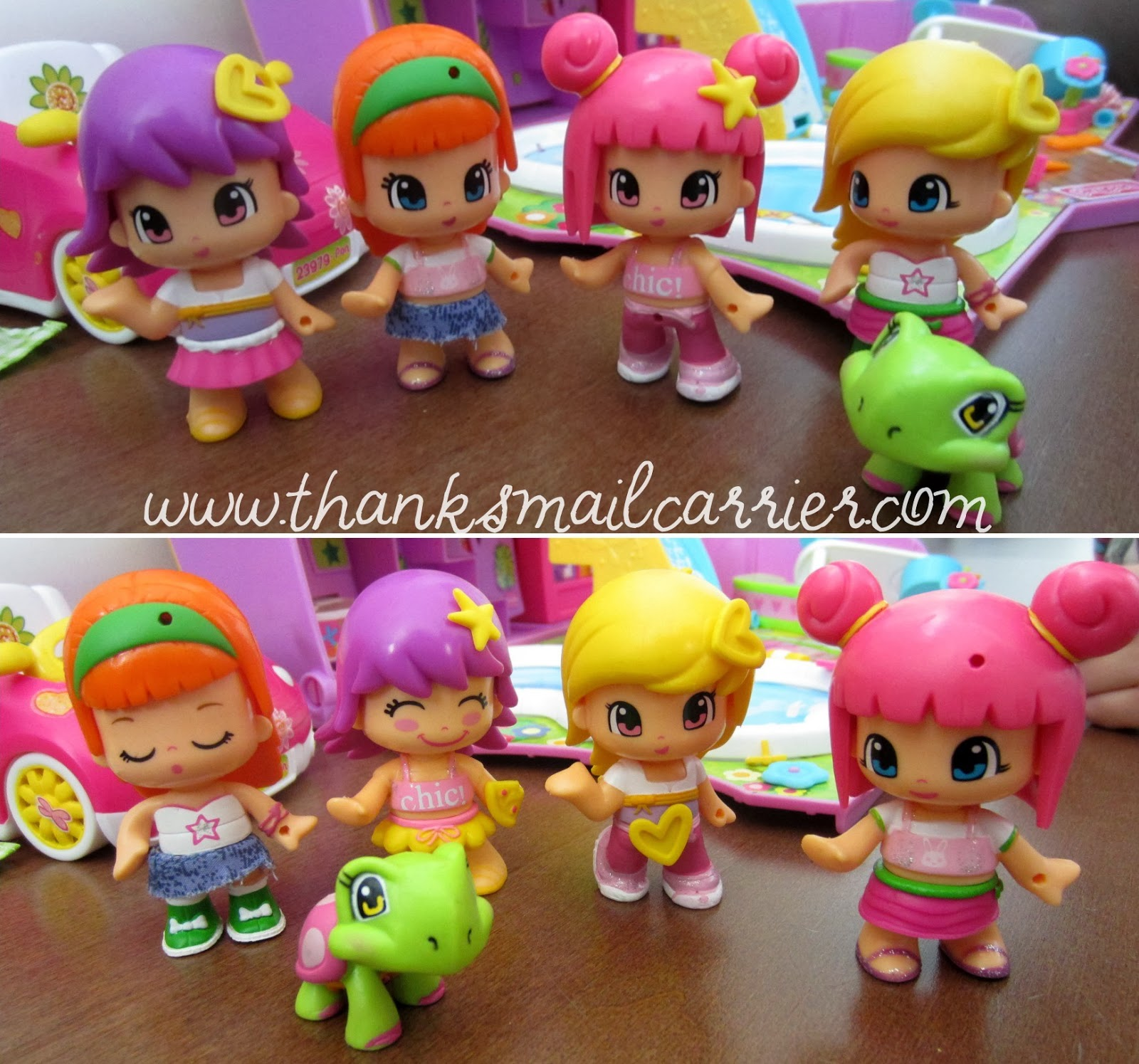 Pinypon mix match dolls