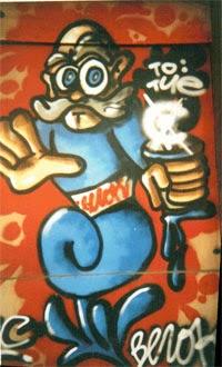 Graffiti para Tie o tye Barcelona