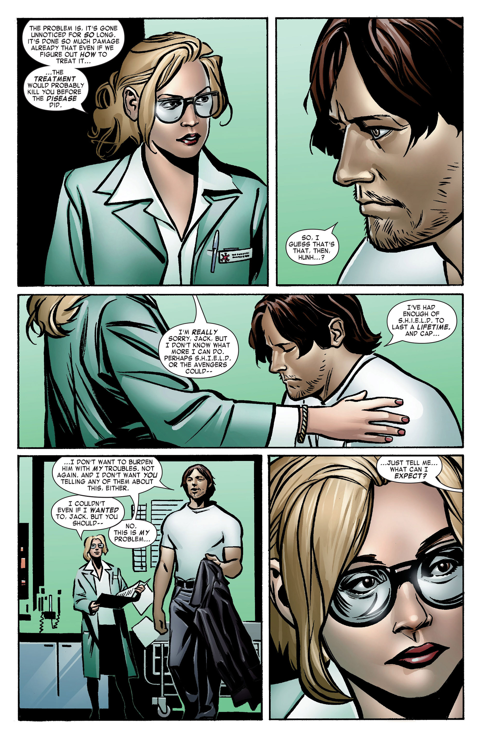 Captain America (2005) Issue #7 #7 - English 4