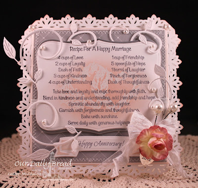 Our Daily Bread Designs, Happy Marriage Recipe, All Occasion Sentiments, Love One Another