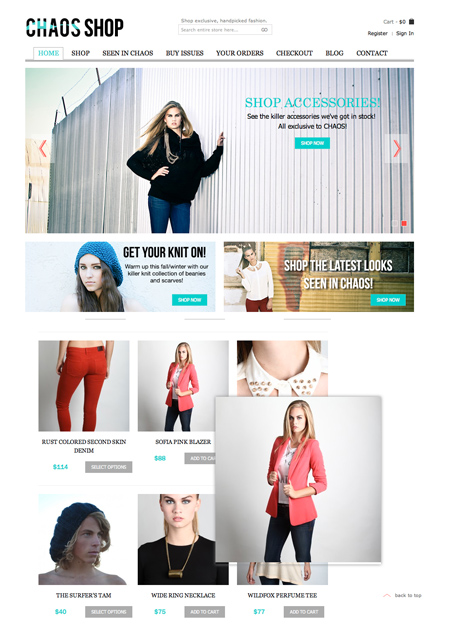 Lyndsie Moore - Chaos Shop - Cast Images Model - San Francisco