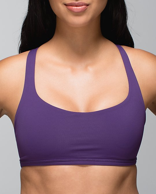 lululemon free to be wild bra grape
