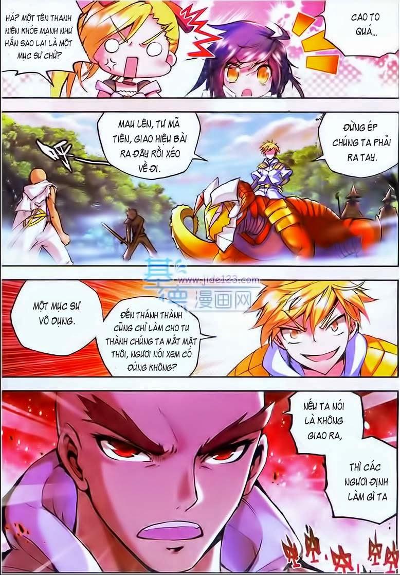 Thần Ấn Vương Tọa chap 29 Trang 11