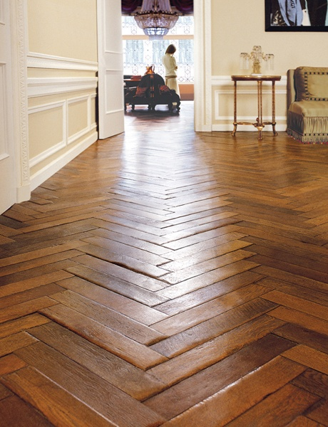 Make your everyday tile extraordinary with herringbone for Hardwood floors uneven