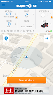 mapmyrun fitness app