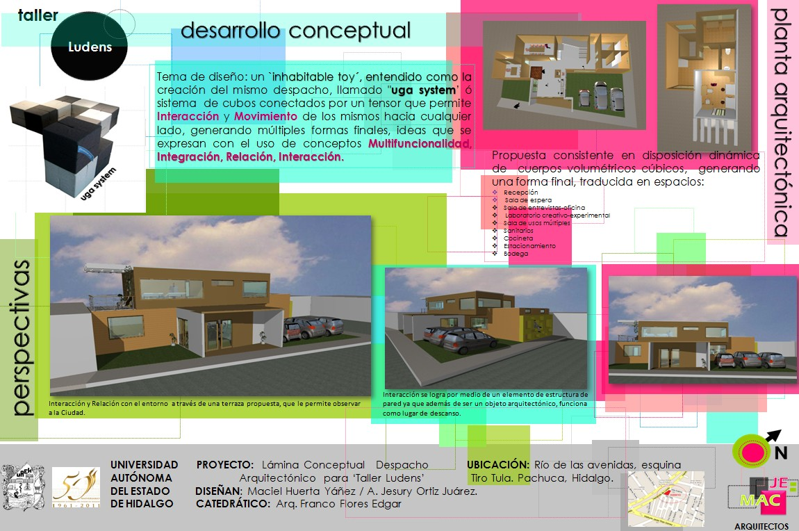 Architectiak daily dedicatoria a despachos miembros del for Despachos de diseno de interiores
