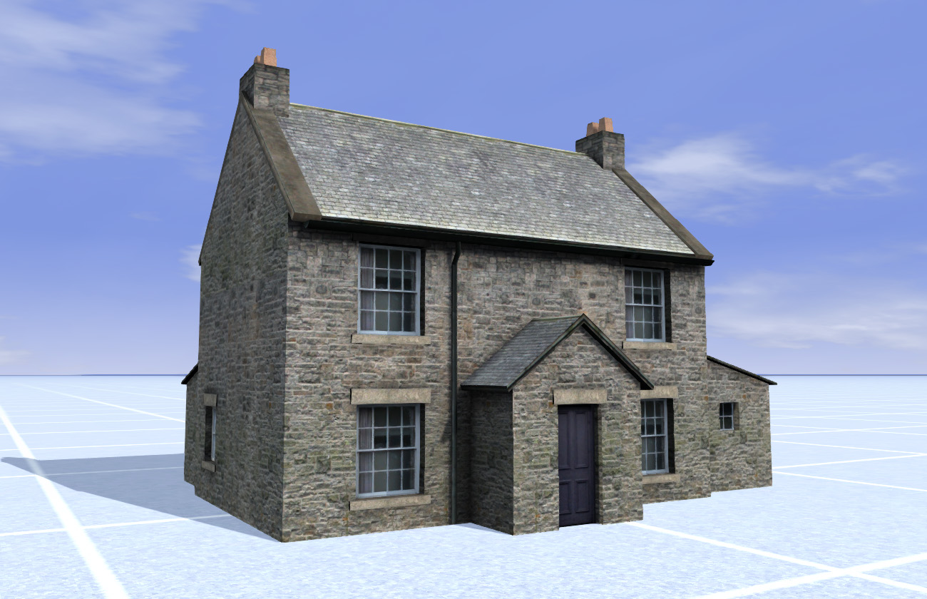 Weardale & Teesdale Railway Stone Farmhouse
