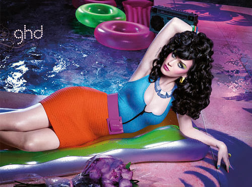 Fetish Inspirations : Katy Perry for GHD Hair Products 04/2012