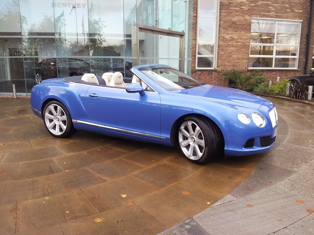 Bentley Continental GTC W12 convertible