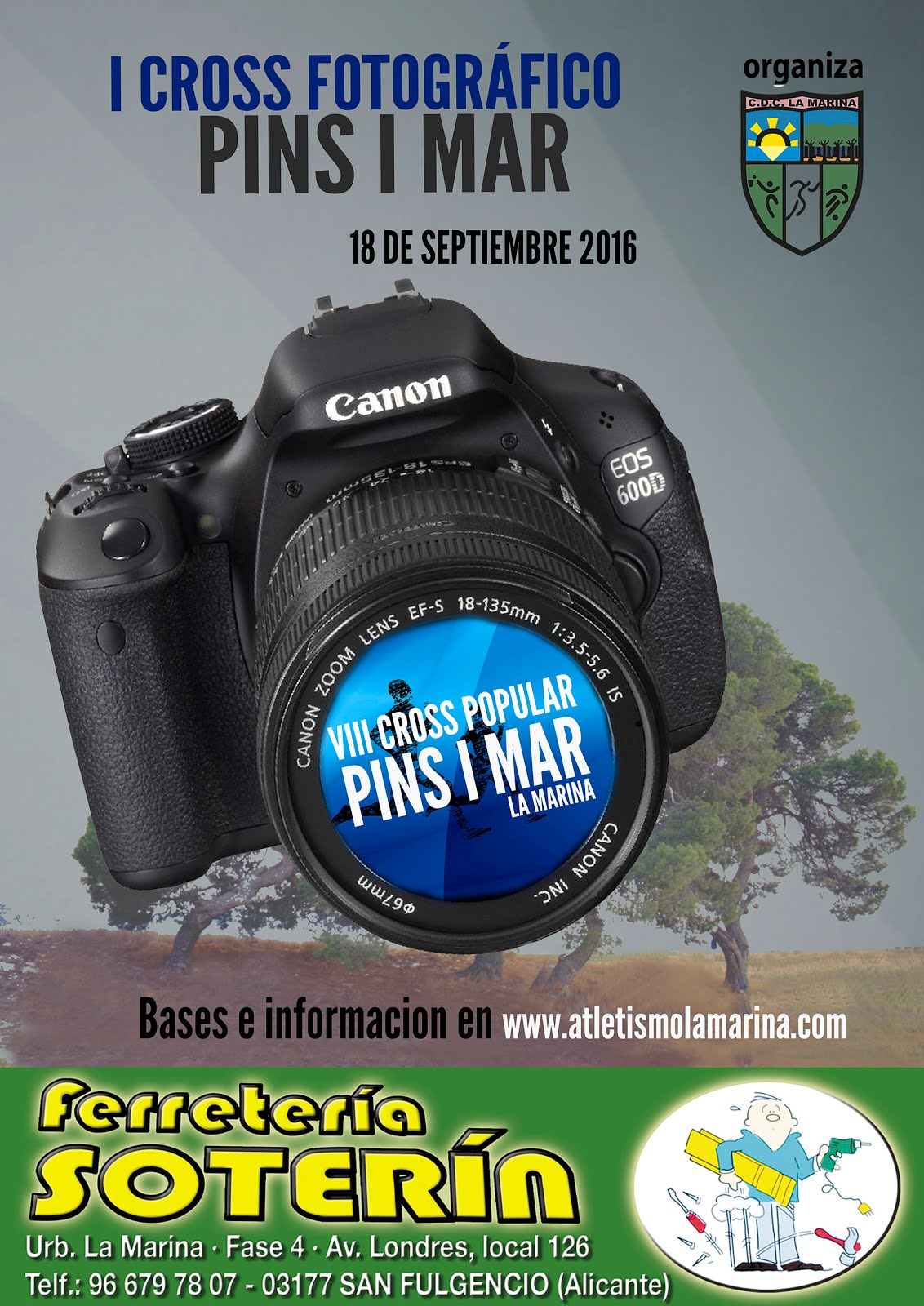 I CROSS FOTOGRAFICO PINS I MAR 2016