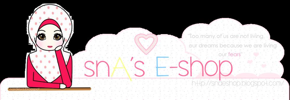 SnA's E-shop