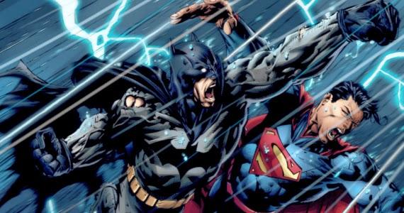Batman vs Superman video game fight