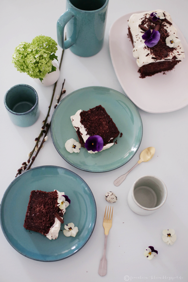 fr ulein klein guinness schokoladenkuchen mit irish. Black Bedroom Furniture Sets. Home Design Ideas