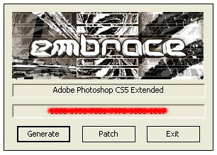 adobe photoshop cs5 extended crack instructions