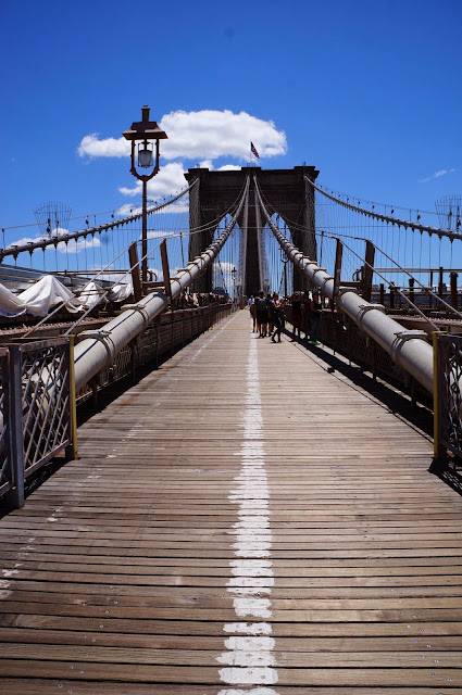 new york, brooklyn bridge,