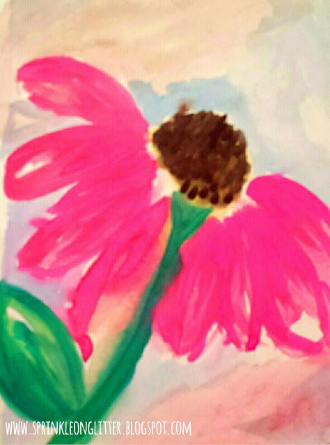 Windblown- watercolor- write 31 days