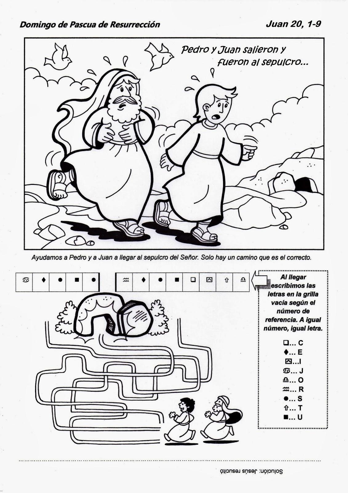 El Rincón de las Melli: Domingo de Pascua - CICLO A