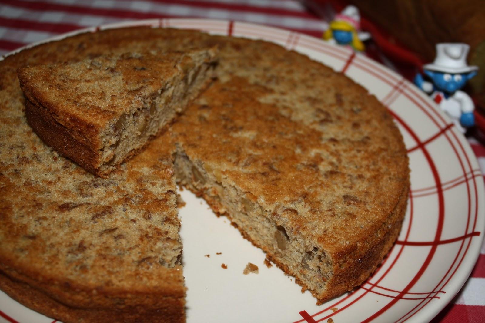 Gateau aux noix et l 39 orange sanguine sans gluten - Gateau aux noix et pommes ...