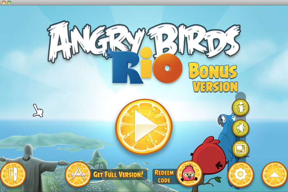 Angry Birds News Blog: Angry Birds Rio Bonus Version with Golden ...