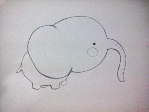 [tutorial] Cómo dibujar un elefantito a partir de círculos