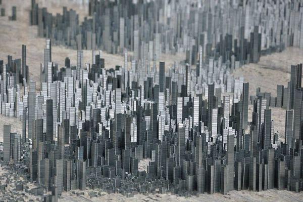Staple Metropolises by Peter Root