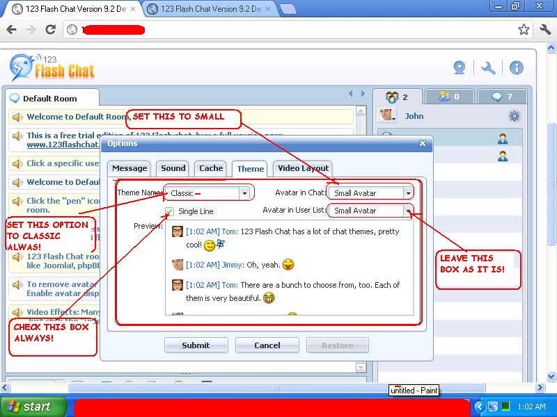 Chatroom handy All of
