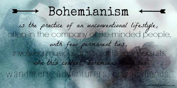 Bohemianism definition