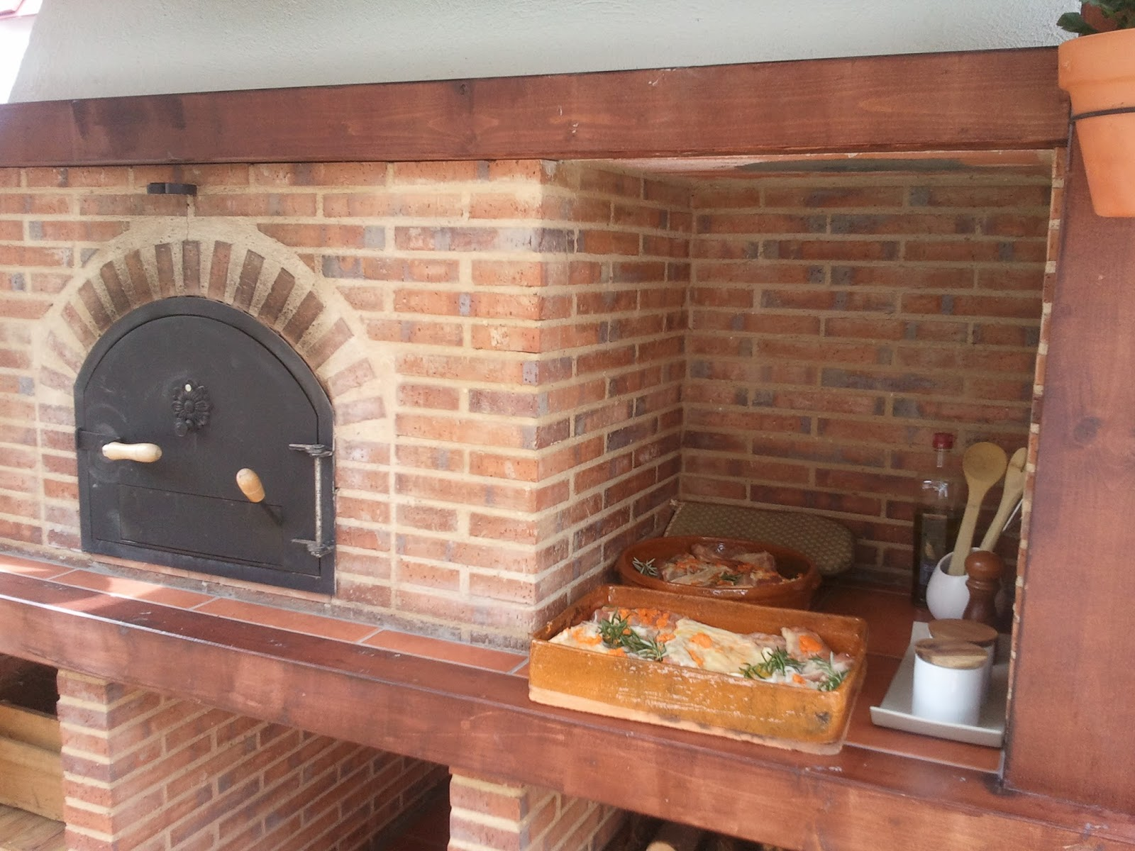 La fabrica de pereruela horno de cesar arroyo - Construir horno de lena ...